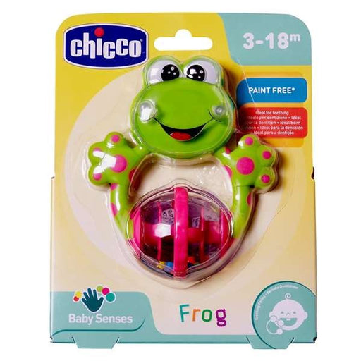 Teether for Babies Rattle Chicco (12 x 14 x 3,5 cm) - Shoppersbase