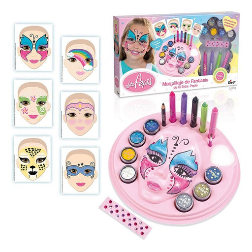 Children's Make-up Set Fantasy Señorita Pepis Diset ES - Shoppersbase