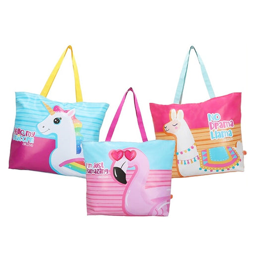 Beach Bag Animal Style (62 x 46 x 10 cm) - Shoppersbase