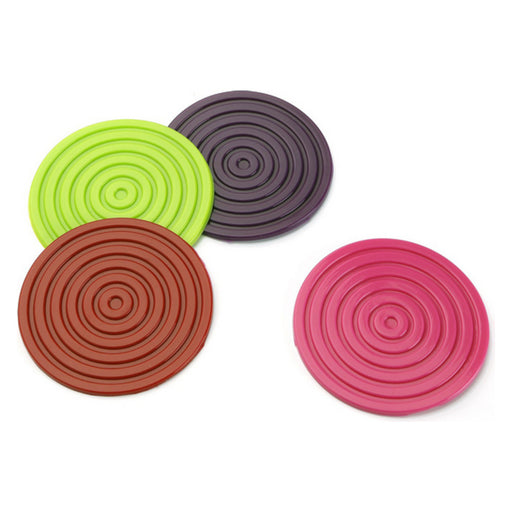Coasters Silicone (4 pcs) - Shoppersbase