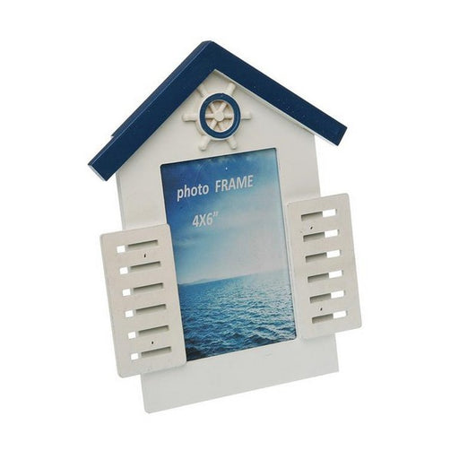 Photo frame Blue Sea MDF Wood - Shoppersbase