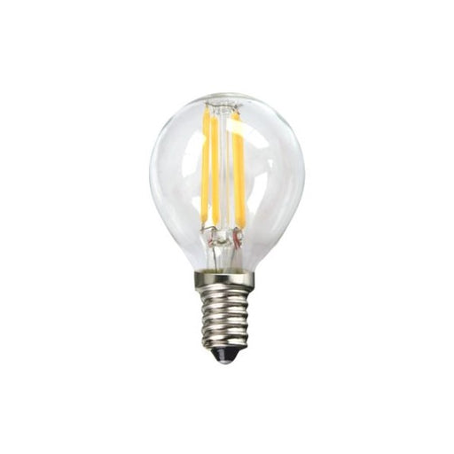 Spherical LED Light Bulb Silver Electronics 1960314 E14 4W 3000K A++ (Warm light) - Shoppersbase