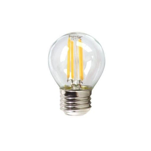 Spherical LED Light Bulb Silver Electronics 1960327 E27 4W 3000K A++ (Warm light) - Shoppersbase