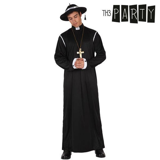 Costume for Adults Th3 Party Priest - Shoppersbase