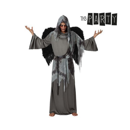 Costume for Adults 9361 Black angel (2 Pcs) - Shoppersbase