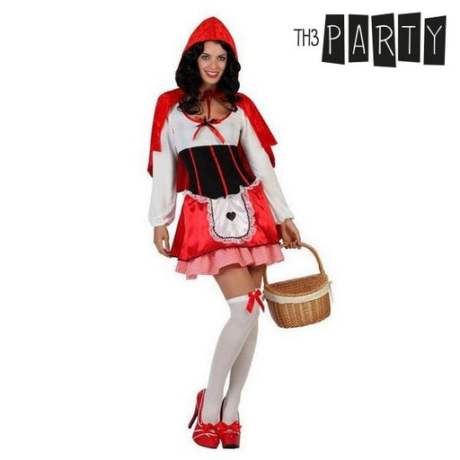 Costume for Adults Little red riding hood (3 Pcs) - Shoppersbase