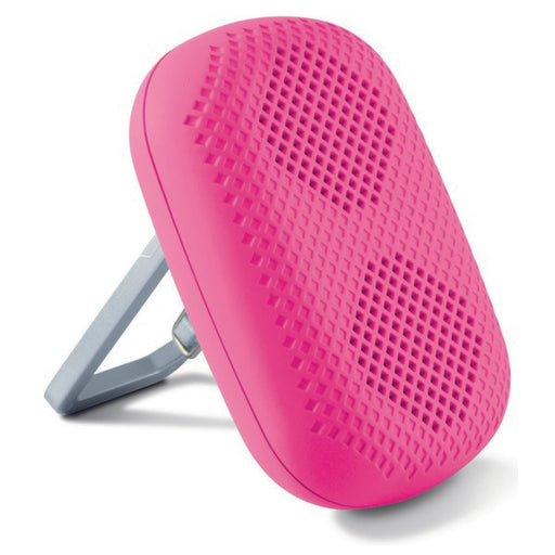 Portable Speaker with Carabiner KSIX 1 5W Pink - Shoppersbase