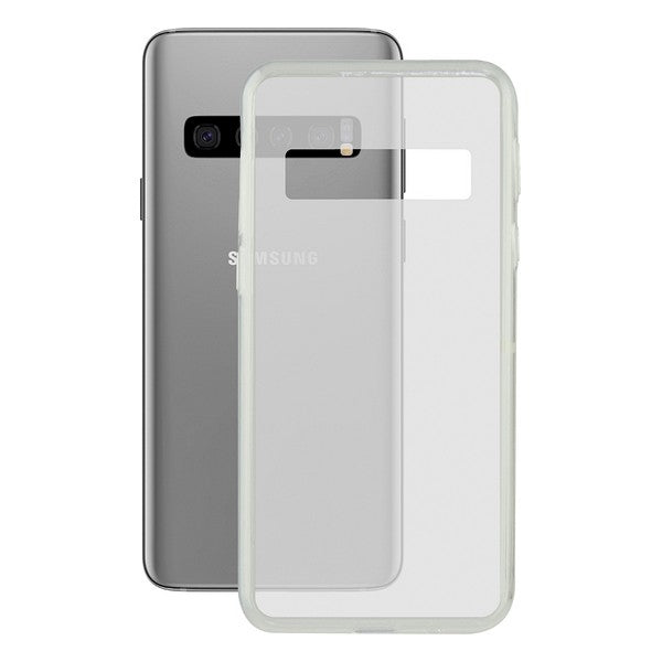 Mobile cover Samsung Galaxy S10 Contact Flex TPU Transparent - Shoppersbase