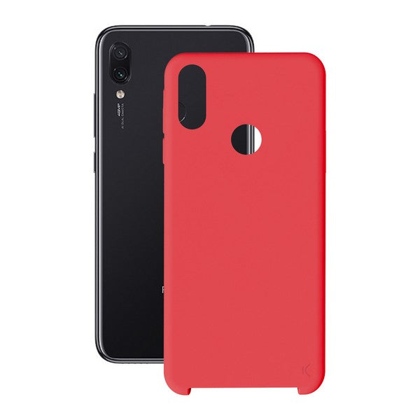 Mobile cover Xiaomi Redmi 7 KSIX Soft Red