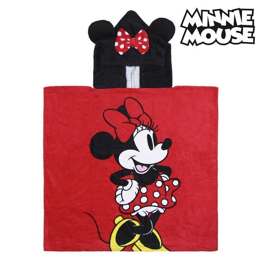 Poncho-Towel with Hood Minnie Mouse 74140 - Shoppersbase