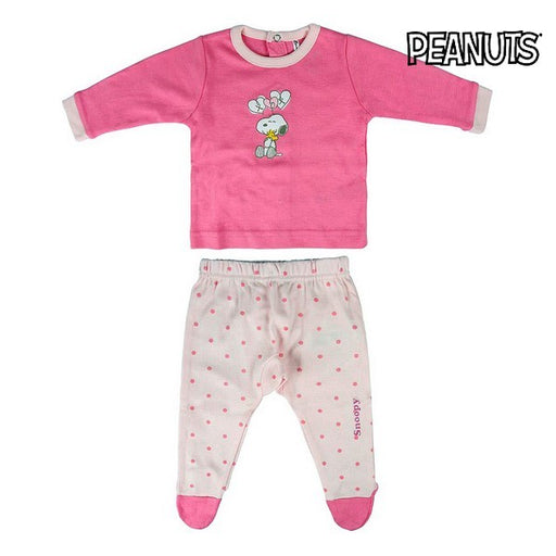 Children's Pyjama Snoopy Pink - Shoppersbase