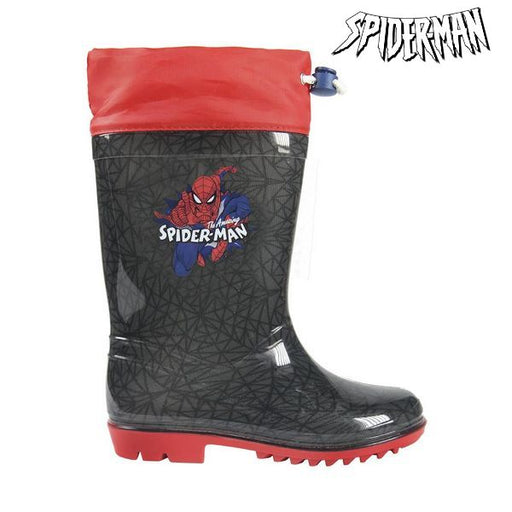 Children's Water Boots Spiderman Grey Red - Shoppersbase