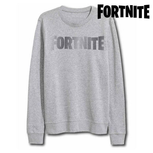 Children's Sweatshirt without Hood Fortnite 75068 Grey - Shoppersbase