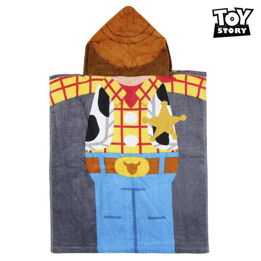 Poncho-Towel with Hood Woody Toy Story 75514 Cotton - Shoppersbase