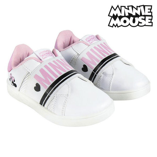 Sports Shoes for Kids Minnie Mouse White - Shoppersbase