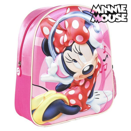 3D Child bag Minnie Mouse Pink - Shoppersbase