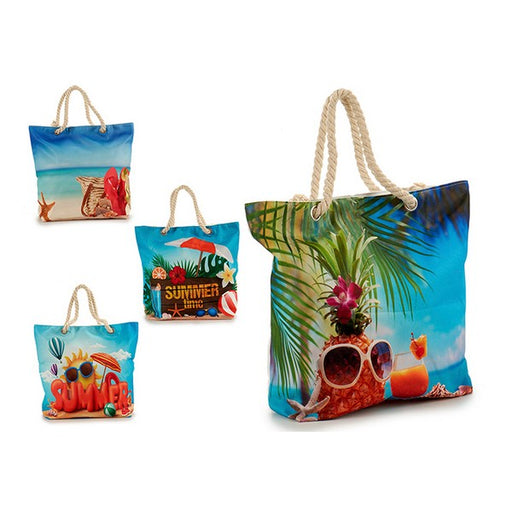 Beach Bag (12 x 37 x 42	cm) - Shoppersbase