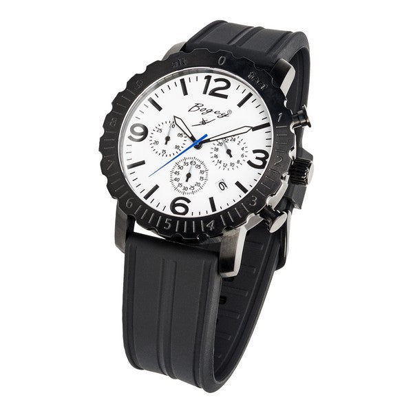 Men's Watch Bogey BSFS006WBBK (44 mm) - Shoppersbase