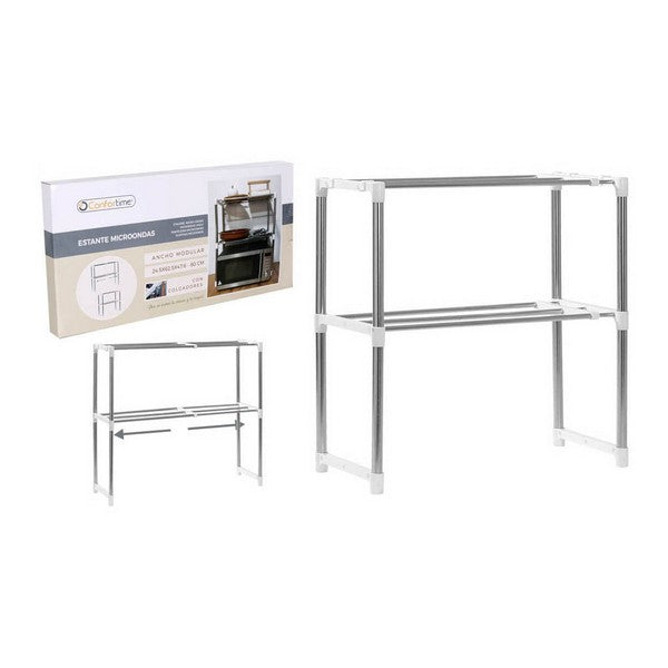 Shelve Microwave Confortime Adjustable (24,5 x 62,5 x 47,6-80 cm) - Shoppersbase