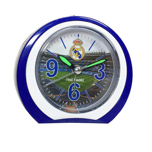 Alarm Clock Real Madrid C.F. Circular - Shoppersbase