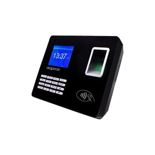 "System for Biometric Access Control approx! APPATTENDANCE02 2,8"" TFT USB LAN Black - Shoppersbase"