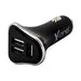 Car Charger Ref. 138185 3 x USB-A Black - Shoppersbase