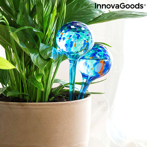 Automatic Watering Globes Aqua·loon InnovaGoods (Pack of 2) - Shoppersbase