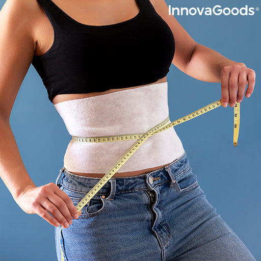Abdominal Slimming Band with Natural Extracts Slybell InnovaGoods (Pack of 4) - Shoppersbase