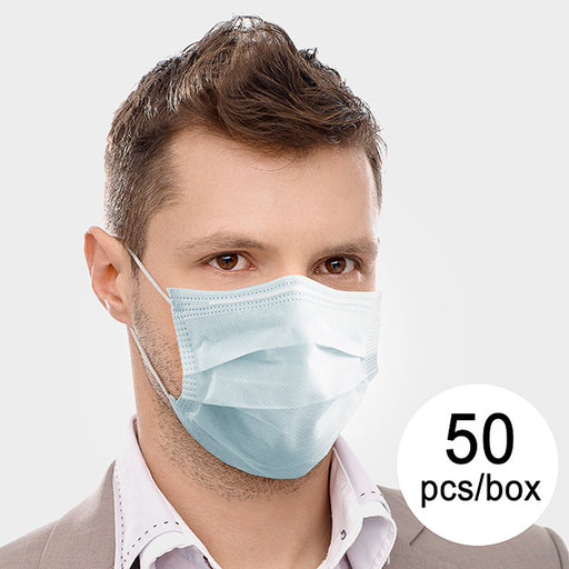 3 Layer Disposable Surgical Mask IIR JDM-001 DeerRiver Luxi (pack of 50) - Shoppersbase