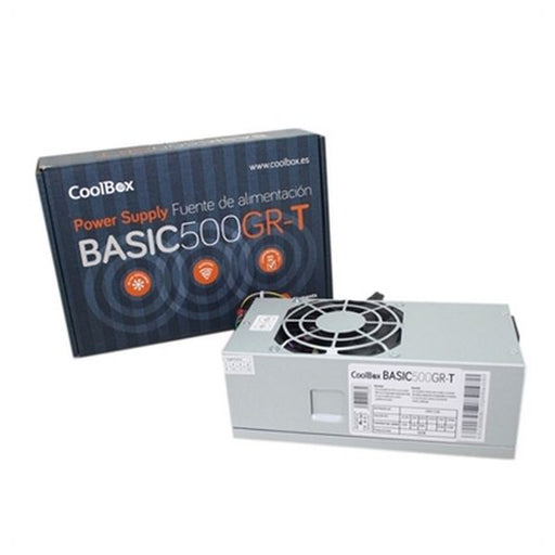 Power supply CoolBox COO-FA500TGR 500W - Shoppersbase