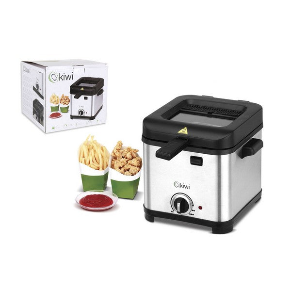 Deep-fat Fryer Kiwi KDF-5503 1 L 840W Stainless steel