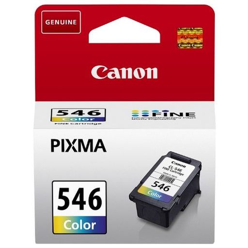 Original Ink Cartridge Canon CL-546 MG2250/2450 Tricolour - Shoppersbase