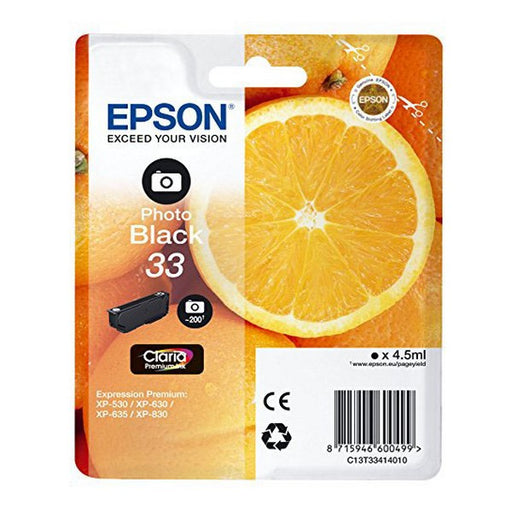 Original Ink Cartridge Epson T334 XP530/630 - Shoppersbase