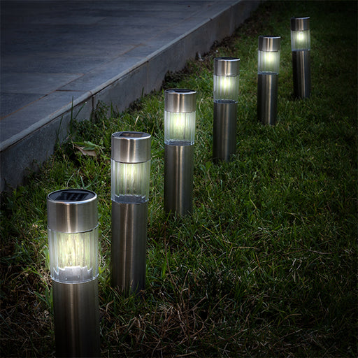 Solar lamp Stake (Pack of 6) - Shoppersbase