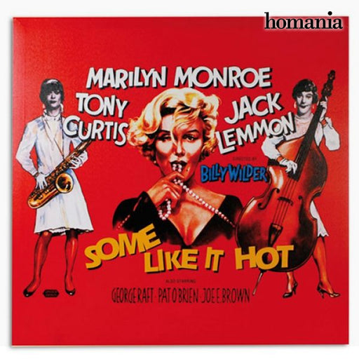 Marilyn Monroe Some Like It Hot Poster - Shoppersbase