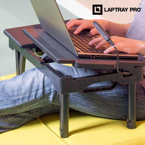 Laptray Pro Multifunction Laptop Table - Shoppersbase