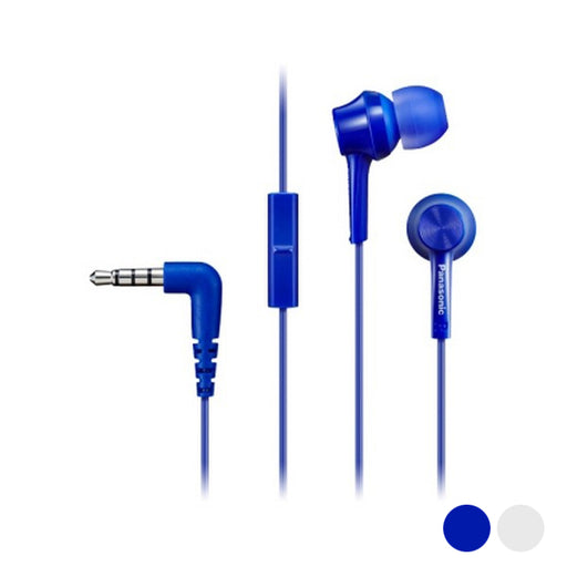 Headphones with Microphone In-ear Panasonic Corp. TCM115E - Shoppersbase