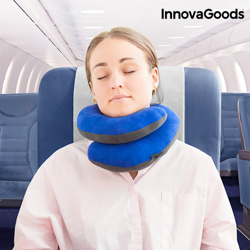 InnovaGoods Chin Supporting Travel Pillow - Shoppersbase