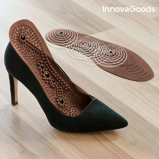 InnovaGoods Pressure Points Magnetic Insoles - Shoppersbase