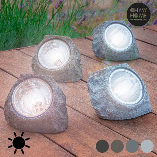 Artificial Solar Stone (4 LEDs) - Shoppersbase