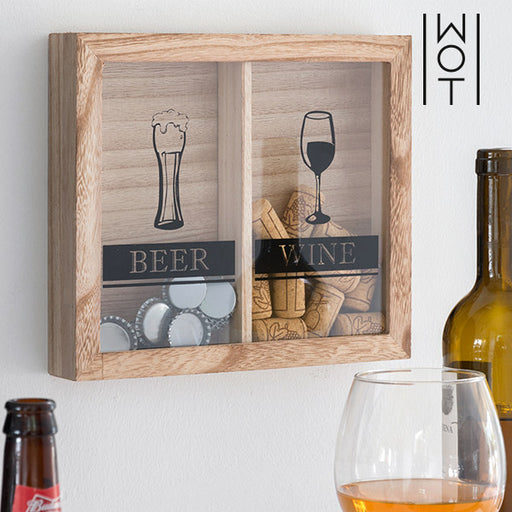 Wagon Trend Beer & Wine Wall Decoration for Stoppers - Shoppersbase