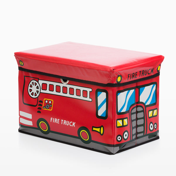 Bus Junior Knows Fold-up Toy box