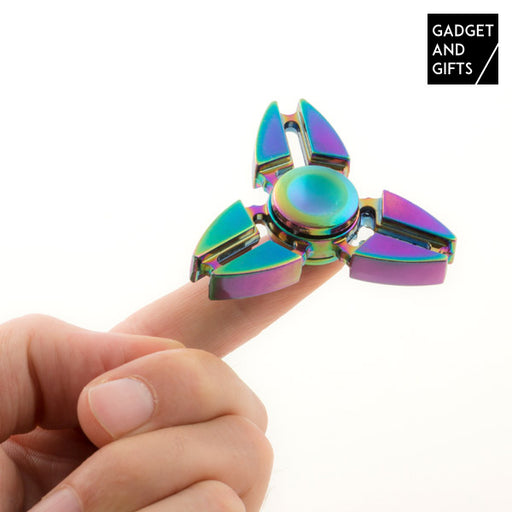 Gadget and Gifts Rainbow I Fidget Spinner - Shoppersbase