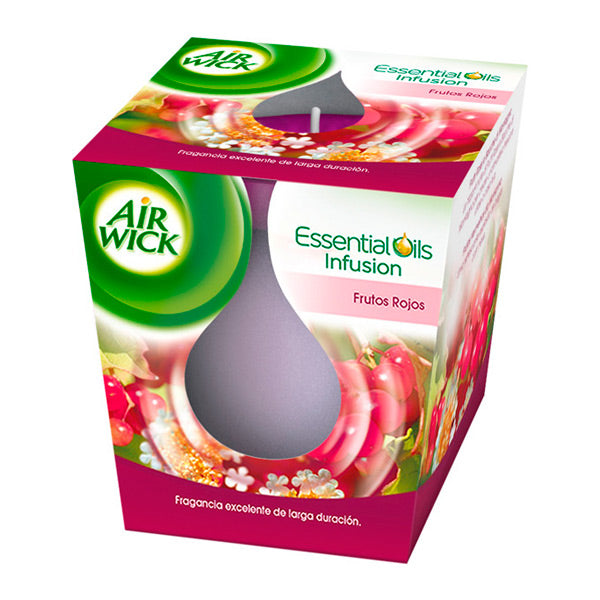 Air Wick Red Fruits Aromatic Candles - Shoppersbase