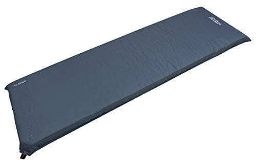 Andes Explora Blue 10cm Single Self Inflating Camping Mat Mattress Camp Bed - Shoppersbase