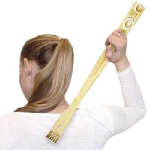 Bamboo Massage Backscratcher - Shoppersbase