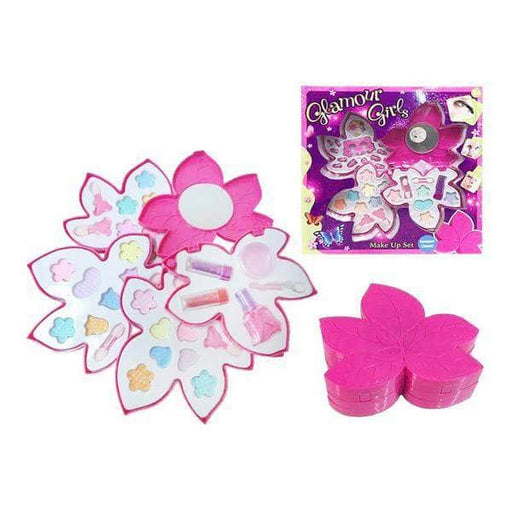 Children's Make-up Set Flower (31 x 31 x 4,5 cm) - Shoppersbase
