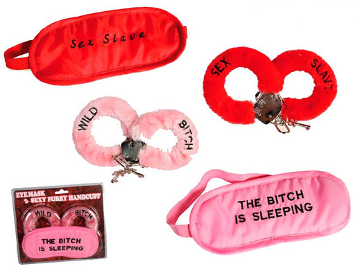 Sexy Handcuffs and Sleep Mask - Shoppersbase