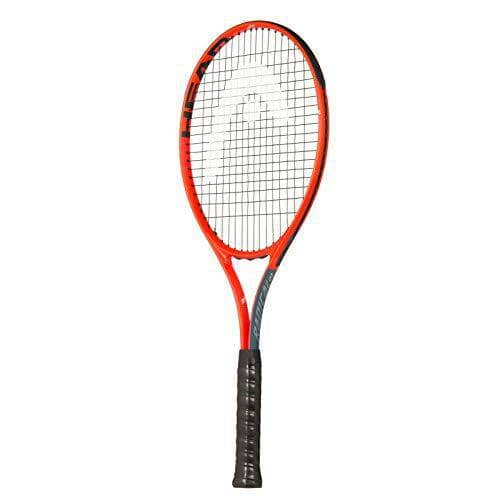 HEAD Radical 27 Tennis Racket, Grey/Orange, 2 Grip - Shoppersbase