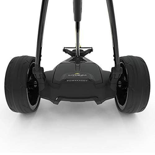 Powakaddy 2019 BLACK FW3s ELECTRIC GOLF TROLLEY 18 LITHIUM - Shoppersbase